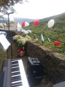 Hochzeitslocation Musik